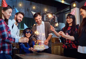 Festeggiare compleanno a casa